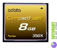 A-Data Compact Flash CF 8GB 350X